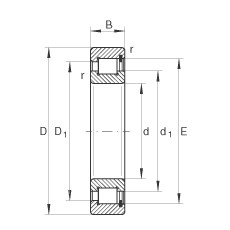 150 mm x 270 mm x 73 mm  INA SL182230 cylindrical roller bearings