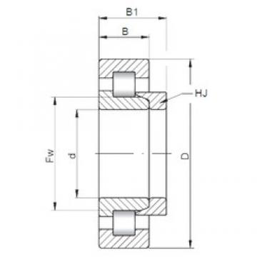 150 mm x 270 mm x 73 mm  ISO NH2230 cylindrical roller bearings