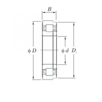 220 mm x 460 mm x 145 mm  KOYO NUP2344 cylindrical roller bearings